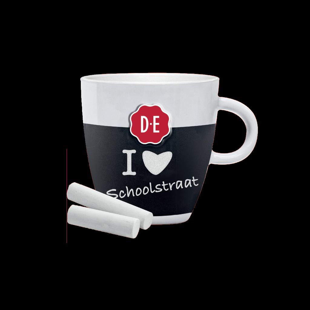 DE chalk mug S